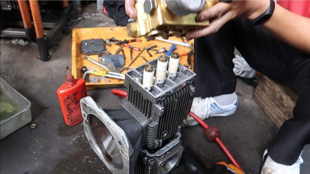 sửa chữa máy bơm nước rửa xe