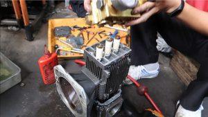Cách sửa chữa máy rửa xe cao áp bằng phương pháp thăm dò