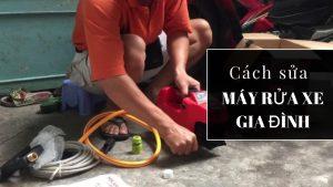 Nguyên nhân và cách khắc phục máy bơm rửa không lên áp