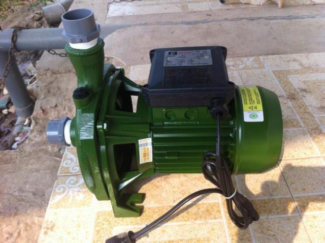 Lắp đặt máy bơm nước nông nghiệp nơi khô ráo thoáng mát